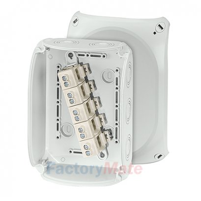 """KF1010G : DK Cable junction boxes  """"Weatherproof"""" for outdoor installation Cable junction box"""