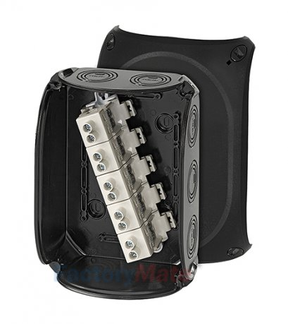 """KF1616B : DK Cable junction boxes  """"Weatherproof"""" for outdoor installation Cable junction box(copy)"""