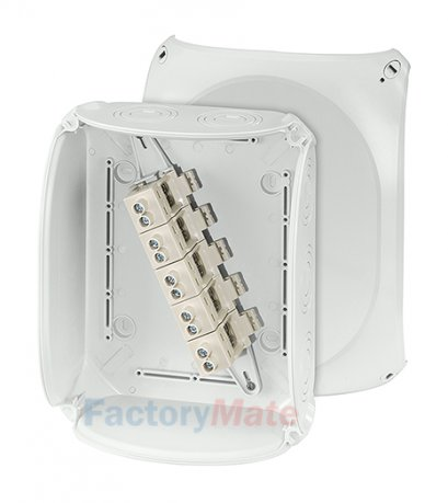 """KF2525G : DK Cable junction boxes  """"Weatherproof"""" for outdoor installation Cable junction box"""