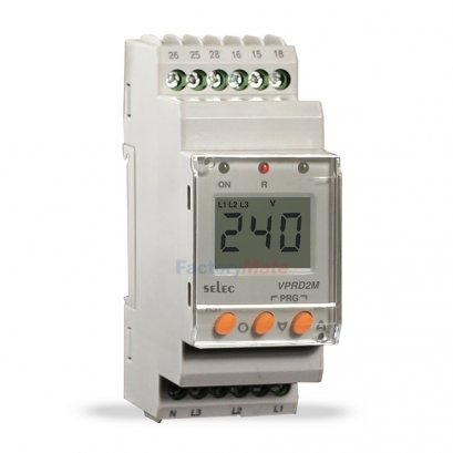 Digital Voltage Protection Relay,Self Powered : VPRD2M-BL