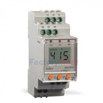 Digital Voltage Protection Relay,Self Powered : 900VPR-2-280/520V