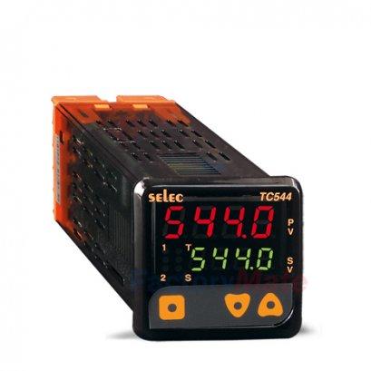 Temperature Controllers   Dual Display, Dual Set Point Temperature Controller, Size : 48 x 48mm TC544A