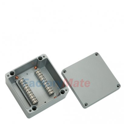 Aluminum enclosure Terminal block box-20P2