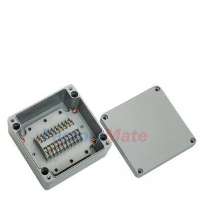 Aluminum enclosure Terminal block box-20PA