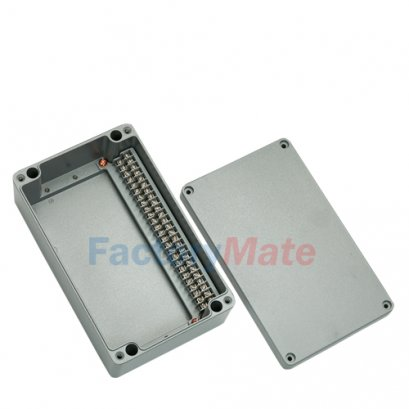 Aluminum enclosure Terminal block box-25PT