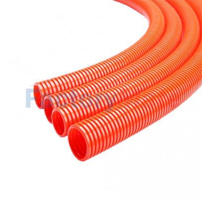 LNE-PA-Z Orange Flame Retardant PA Nylon Flexible Conduit