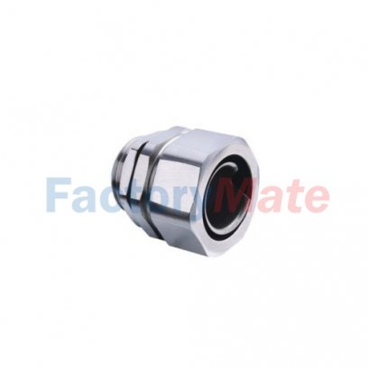 LNE-DPB Stainless Steel End Style Straight Connector