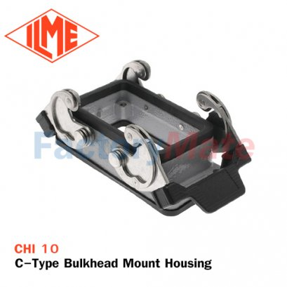 ILME CHI-10 C-Type Bulkhead Mount Housing, Size 57.27, Double Lever