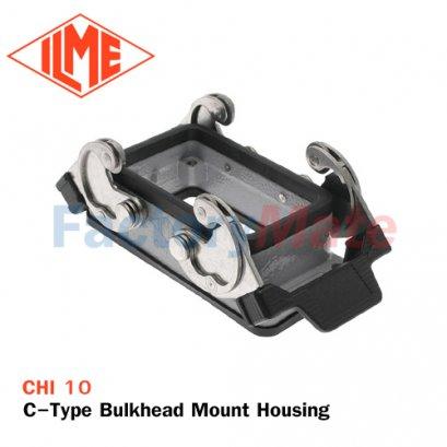 ILME CHI-10 C-Type Bulkhead Mount Housing, Size 57.27, Double Lever