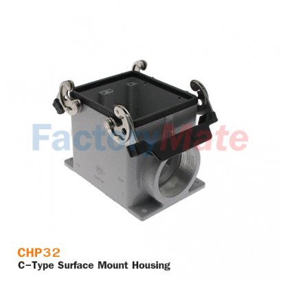 ILME CHP-32 C-Type Surface Mount Housing, Size 77.62, Double Lever, PG 36
