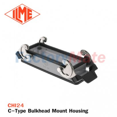 ILME CHI-24 C-Type Bulkhead Mount Housing, Size 104.27, Double Lever