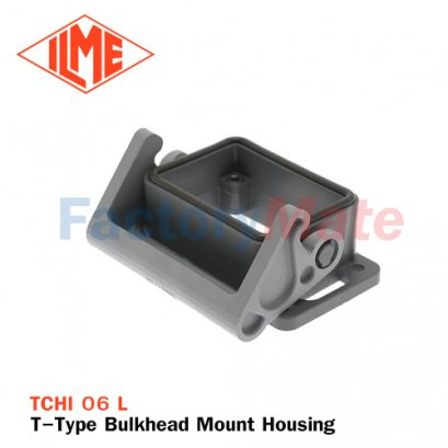 ILME TCHI-06L T-Type Bulkhead Mount Housing, Size 44.27, Single Lever