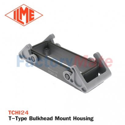 ILME TCHI-24 T-Type Bulkhead Mount Housing, Size 104.27, Double Lever
