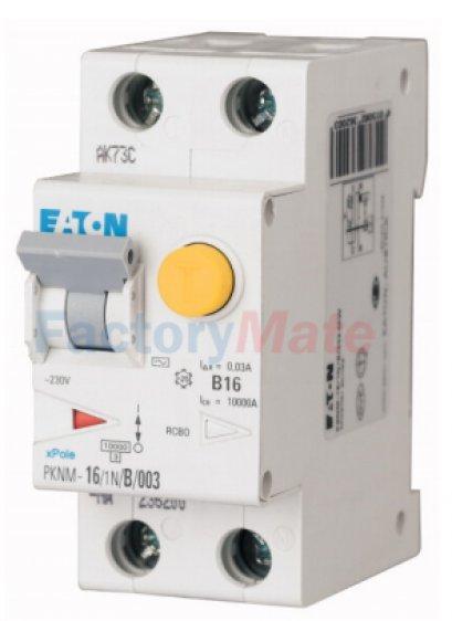 Combined RCD/MCB Device PKNM อุปกรณ์ป้องกันไฟดูดพร้อมเซอร์กิตเบรคเกอร์ในตัว