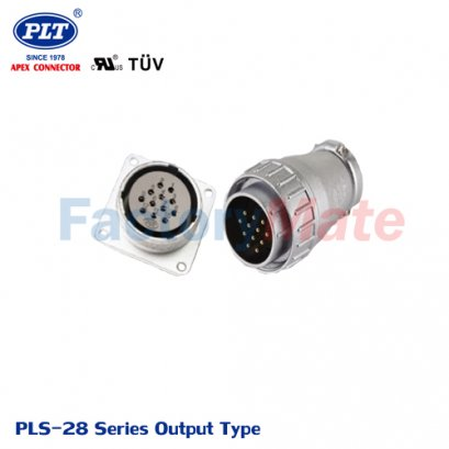 PLS-28 Series (Output Type) PLS Series Square Connectors