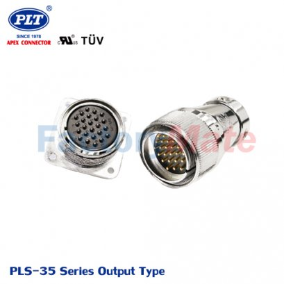 PLS-35 Series (Output Type) PLS Series Square Connectors