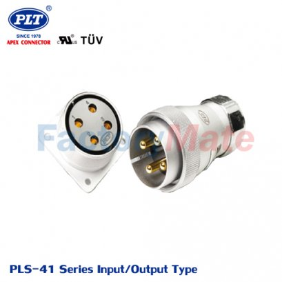 PLS-41 Series (Input Type/Output Type) PLS Series Square Connectors