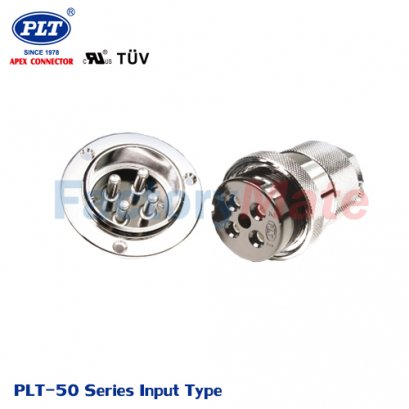 PLT-50 Series (Input Type) PLT Series Circular Connectors