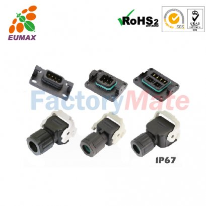XC-JN6Q-RS6P JN6Q QC Power Receptacle 6P EUMAX Micro Motor Connector