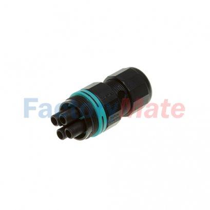 THB.387.B2A  TH387 - mini-Plug&Socket connector IP66/IP68