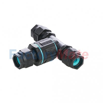 "THB.390.C3B  TH390 - Circular mini-junction connector 3 ways type ""T"" IP68"