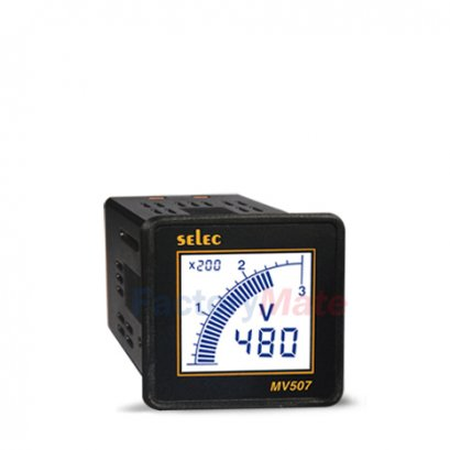 Digital Voltmeters   1Ø, Size : 48 x 48MM :  MV507
