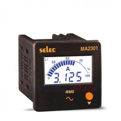 Digital Ammeters   3Ø, Size : 72 x 72mm MA2301