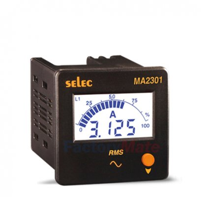 Digital Ammeters   3Ø, Size : 72 x 72mm MA2301