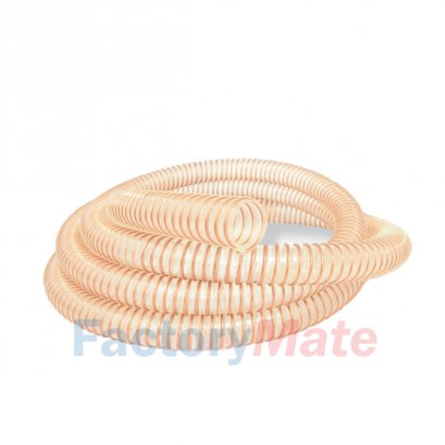 PU Food Grade Flexible Duct Hoses | Polyurethane hose with spiral spring3210