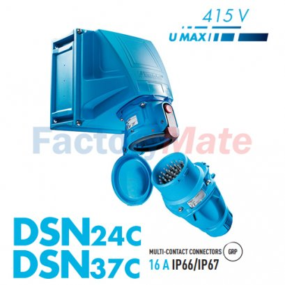 MARECHAL DSN24C-DSN37C Multicontact FROM 24 PIN UP TO 37 PIN