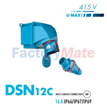 MARECHAL DSN12C Multicontact UP TO 12 PIN