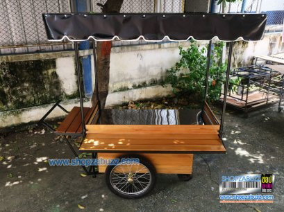 Food cart with roof CTR 218