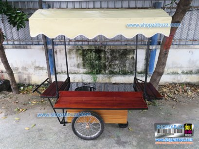 Food cart with roof CTR - 219