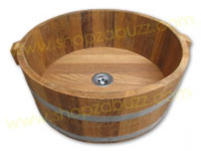 Oak wood bucket