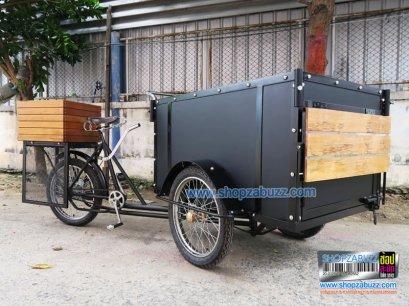 Food Bike cart Style Vintage BT - 4