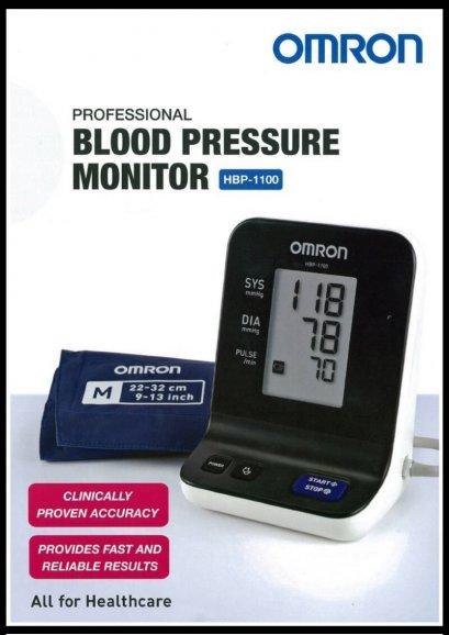เครื่องวัดความดัน OMRON HBP-1100