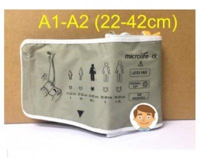 Cuff ผ้าพันแขน Microlife สำหรับ A1-A2 (22-42cm)