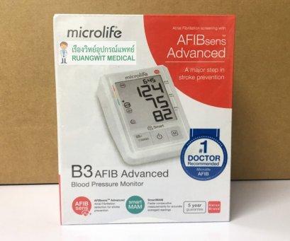 เครื่องวัดความดัน Microlife B3 AFIB Advance (ตรวจจับโรคหัวใจ AF ได้)