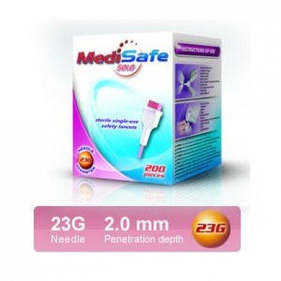 เข็มเจาะเลือดปลายนิ้ว Medisafe SOLO (ขายแยก)