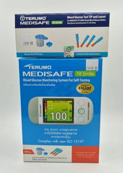เครื่องตรวจน้ำตาล Terumo Medisafe Fit Smile (ราคาพิเศษเฉพาะการจัดซื้อและส่งทางออนไลน์เท่านั้น)
