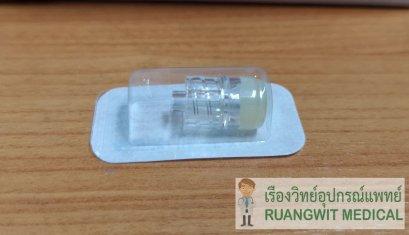 ข้อต่อฉีดยาให้น้ำเกลือ Heparin Cap without cover (ไม่มีตัวปิด)