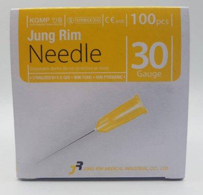 เข็มฉีดยา Jung Rim Needle 30G x 4mm (Meso Needle) (1 กล่อง = 100 เล่ม)