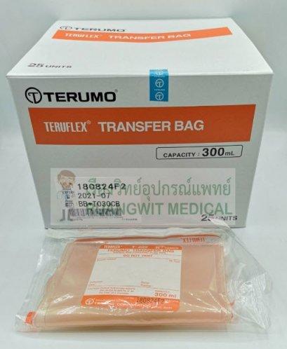 ถุงถ่ายแบ่งเลือด Transfer Bag Teruflex 300 mL (1 ใบ)
