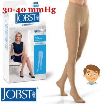 ถุงน่องเส้นเลือดขอด Jobst เต็มตัว แรงบีบ 30-40 มม.ปรอท