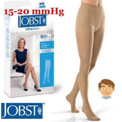 ถุงน่องเส้นเลือดขอด Jobst เต็มตัว แรงบีบ 15-20 มม.ปรอท