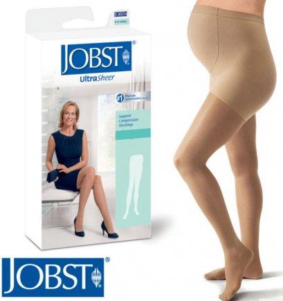 ถุงน่องป้องกันเส้นเลือดขอด Jobst Maternity สำหรับคนท้อง แรงบีบ 20-30 mmHg