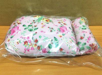 ถุงมือกันดึงสายแบบนิ่ม ดอกไม้พื้นชมพู (ราคาต่อ 1ข้าง)