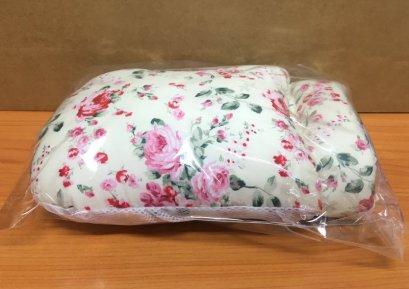 ถุงมือกันดึงสายแบบนิ่ม ดอกไม้พื้นครีม (ราคาต่อ 1ข้าง)