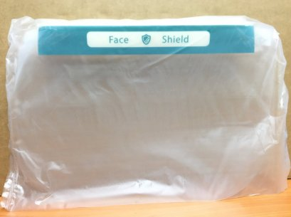 Face Shield Anti-Fog (พลาสติกเกรดดี มองชัด ลดการเกิดหมอกไอ)