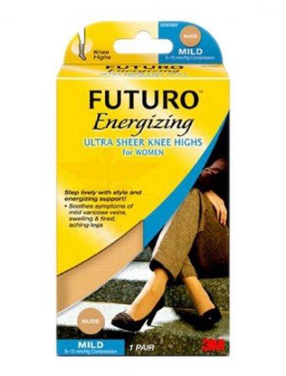 ถุงน่องเส้นเลือดขอด ระดับเข่า Futuro แรงบีบ 8-15 mmHg สีเนื้อ